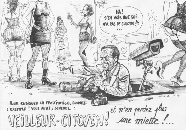 Caricature-veilleur