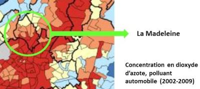 """Lire à ce sujet notre article """"Pollution : La Madeleine dans le rouge autour du Grand Boulevard"""""""